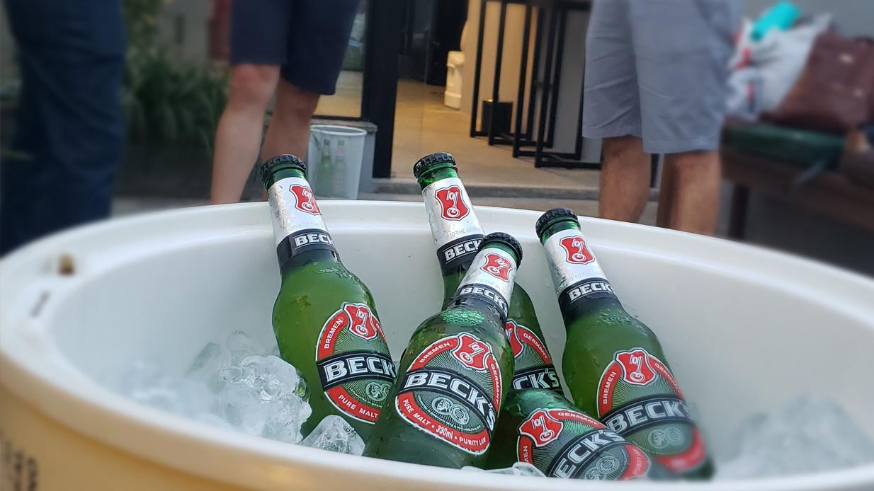 Becks Happy Hour